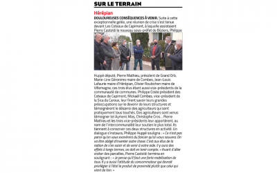 Article Midi Libre du 10/04/2021