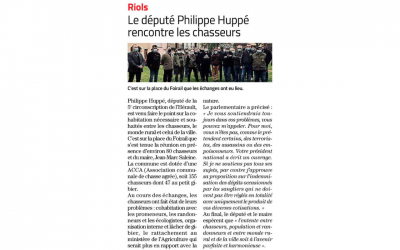 Article Midi Libre du 31/03/2021